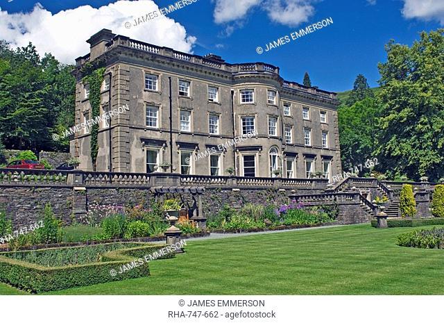 Rydal Hall, Grasmere, Lake District National Park, Cumbria, England, United Kingdom, Europe