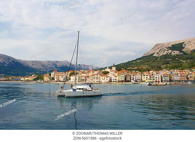 Europe, Croatia, Krk Island, Baska