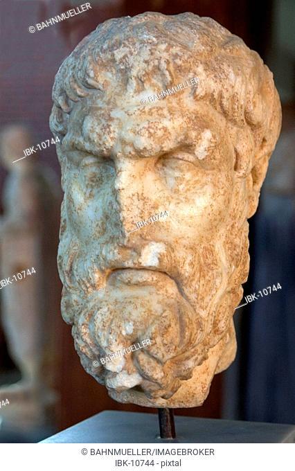 Turkey Aphrodisias in the Meander valley excavations archeological museum Epikuros