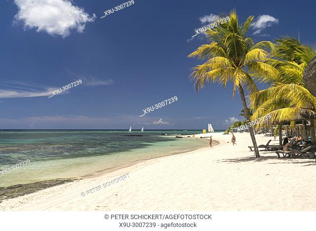 Dream beach at Turtle Bay, Mauritius, Africa