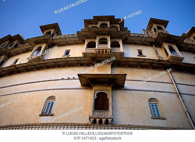 Detail of City Palace,Udaipur, Rajasthan, india