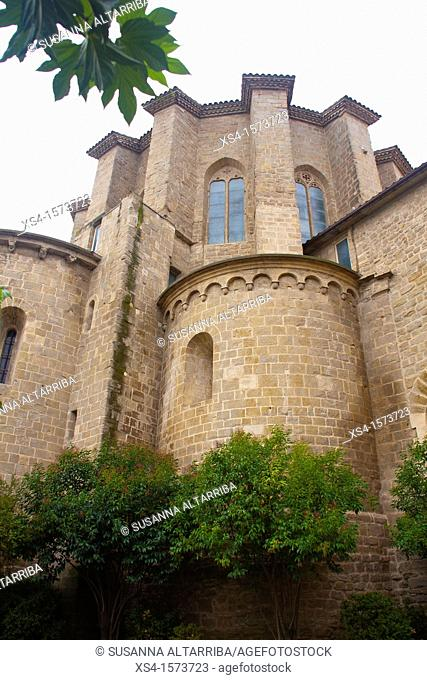The Cathedral of Santa Maria de Solsona is a complex of buildings dating from the late twelfth to the eighteenth century, Romanesque, Gothic and Baroque