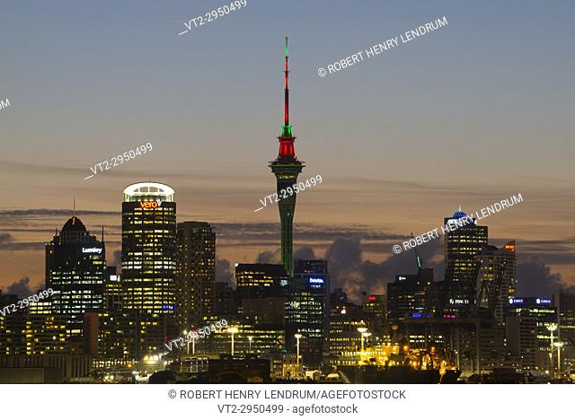 Auckland Sky Tower, Auckland, New Zealand