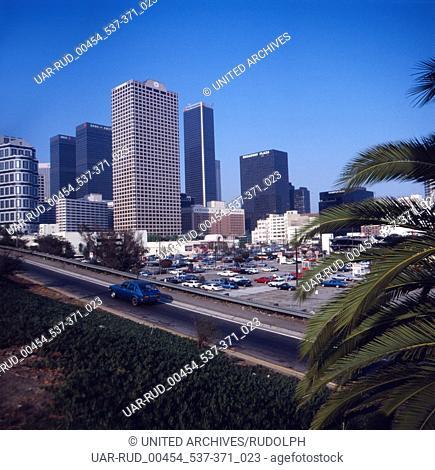 Eine Reise nach Los Angeles, Kalifornien, USA1980er Jahre. A trip to Los Angeles, Calofornia, USA 1980s