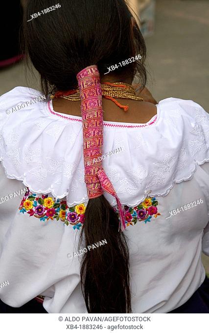 Ecuador, Otavalo traditional ethnic market