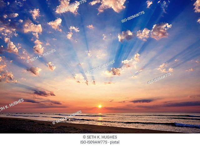 Sunrise at Cabo Pulmo, California