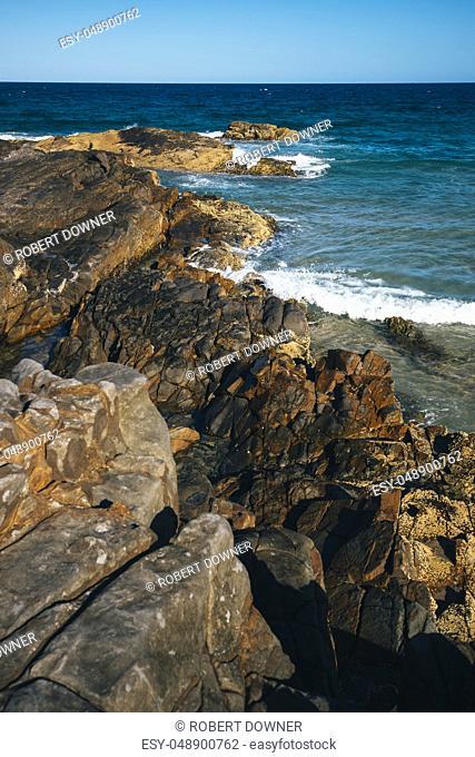Sunshine beach at Noosa, Sunshine Coast, Queensland, Australia