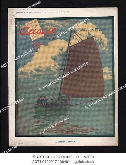 Magazine - 'Aussie', No. 42, 15 Aug 1922, Issue no. 42, 15 Aug 1922, of post-World War I publication 'Aussie', 'The Cheerful Monthly'