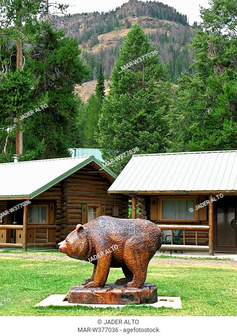 usa, wyoming, parco nazionale di yellowstone