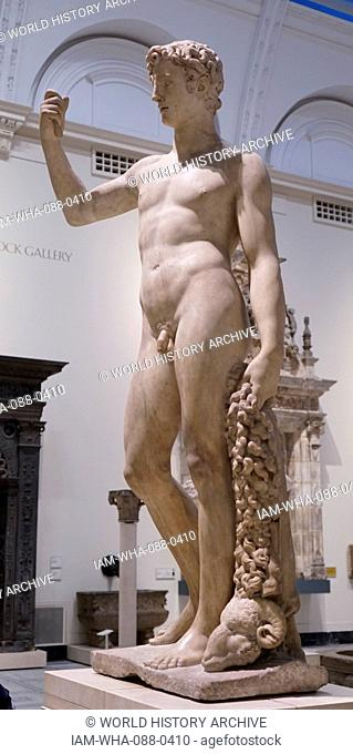 Marble statue of the Greek mythological character Jason. Dated 16th Century