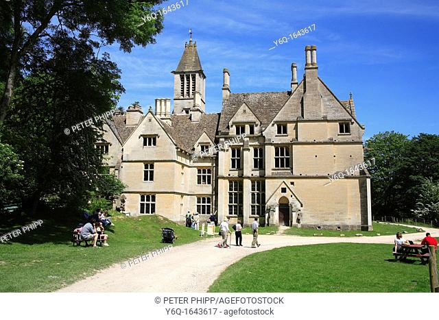 Woodchester Mansion near Stroud, Gloucestershire Cotswolds