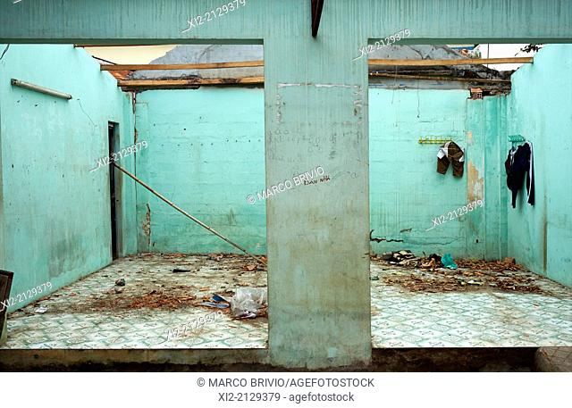 An abandoned house. Phu Quoc Island, Vietnam