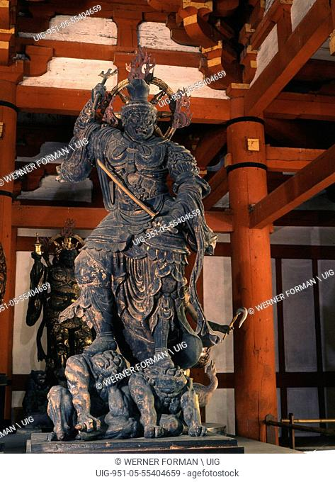 One of the twelve sacred generals in the To ji temple, Kyoto