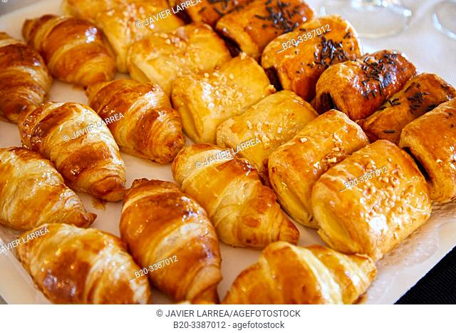 Catering at Miramar Palace, Pastries, Congress, Donostia, San Sebastian, Gipuzkoa, Basque Country, Spain, Europe