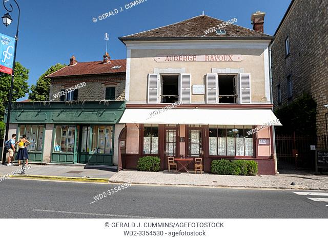 France, Auvers-sur-Oise, 2019/06. Associated with several famous artists, the most prominent being Vincent van Gogh