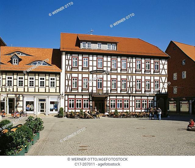 Hotel Weisse Hirsch. Wernigerode, Saxony-Anhalt. Germany