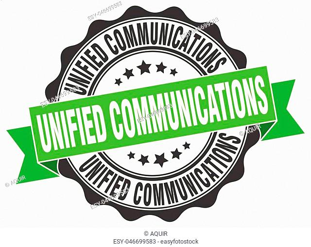 unified communications stamp. sign. seal