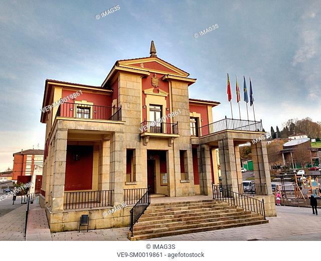 Nava Town Hall, Asturias, Spain
