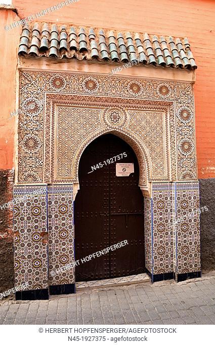 Marrakech/Marrakesh; Medina; Souk; Morocco