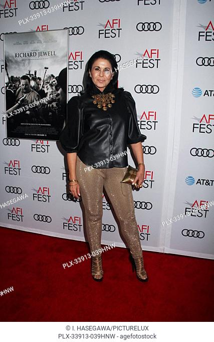 """Maria Conchita Alonso 11/20/2019 AFI Fest 2019 Gala Screening """"""""Richard Jewell"""""""" held at the TCL Chinese Theater in Los Angeles, CA. Photo by I"""