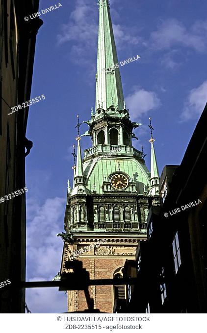 old town. Stockholm