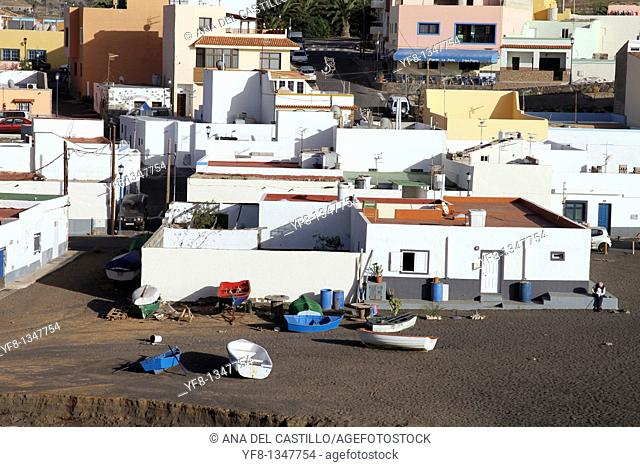 Ajuy volcanic beach Fuerteventura Canary islands Spain