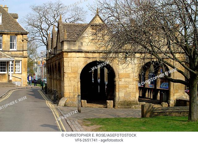 England, Gloucestershire, Cotswolds, Chipping Campden, Market Hall