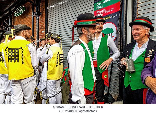 Morris Dancers, Lewes, Sussex, UK