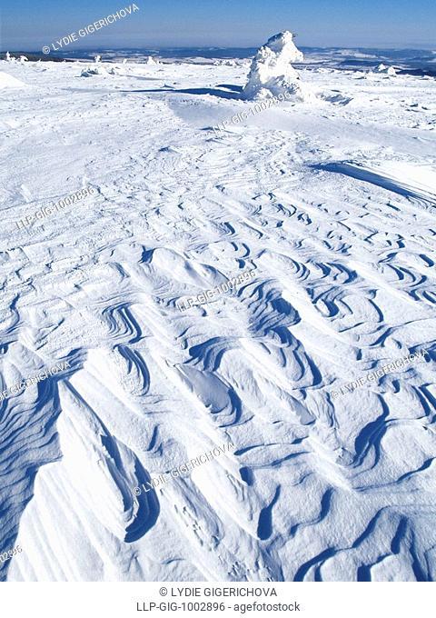 The Jeseniky mountains