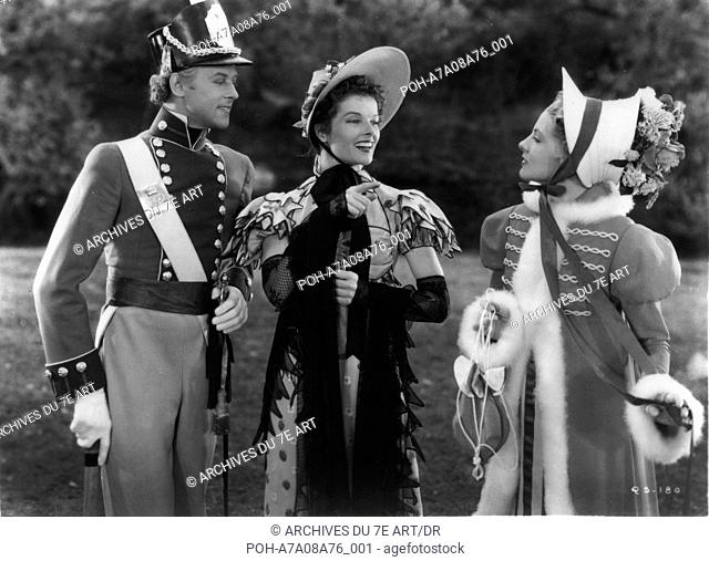 Quality Street Quality Street  Year: 1937 USA Roland Varno, Katharine Hepburn, Joan Fontaine  Director: George Stevens. WARNING: It is forbidden to reproduce...