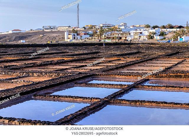 Salinas del Carmen, Antigua, Fuerteventura, Canary Islands, Spain