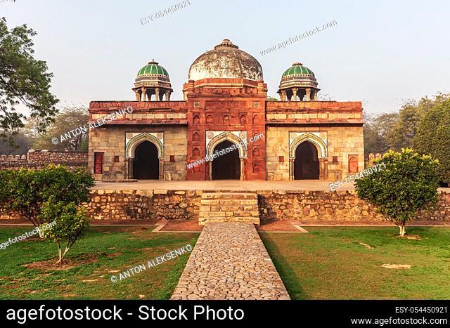 Isa Khan's Mosque, Humayun's Tomb, New Delhi, India
