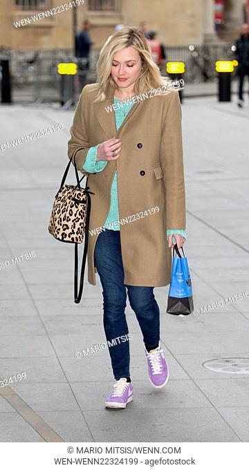 Fearne Cotton arriving at BBC in Portland Place to host Live Lounge on Radio 1 Featuring: Fearne Cotton Where: London, United Kingdom When: 20 Mar 2015 Credit:...