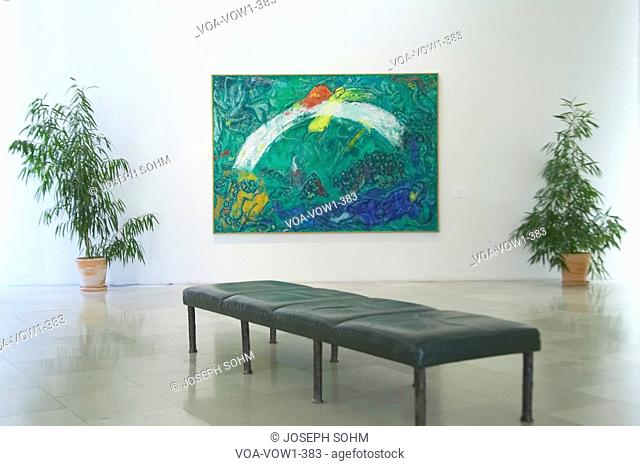 Paintings by Marc Chagall, Marc Chagall Museum, Nice, France