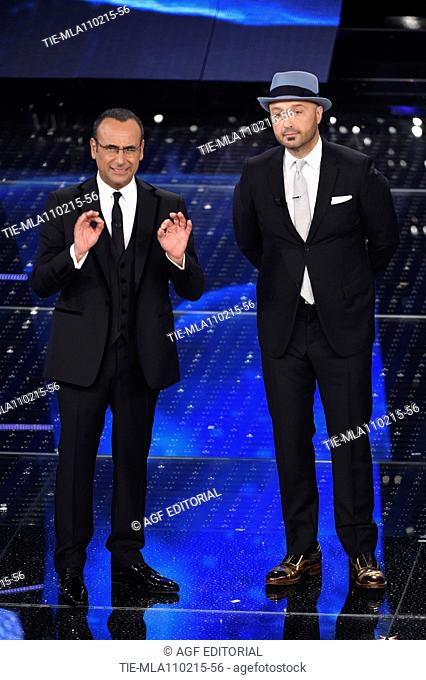 Joe Bastianich during the 65th Sanremo Festival, Sanremo, Italy, 11/02/2015