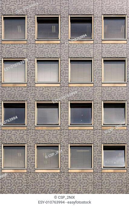Modern windows building