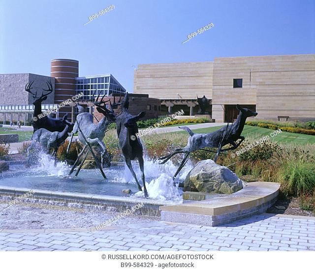 Eiteljorg Museum Of American Indians, Indianapolis, Indiana, Usa