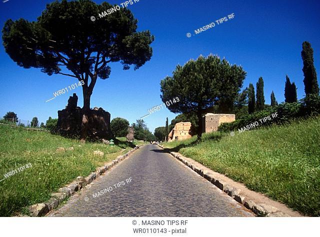Italy, Lazio, Rome, the Via Appia