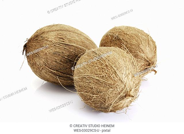 Coconuts, close-up