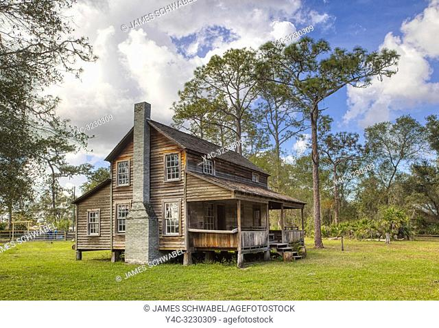 Tatum House at Crowley Museum & Nature Center in Sarasota Florida