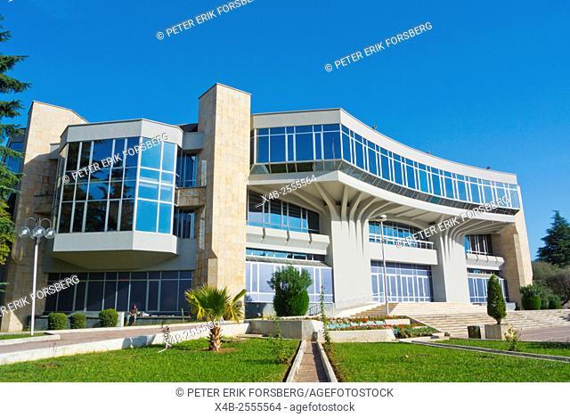 Pallati i Kongreseve, Palace of Congresses, Tirana, Albania