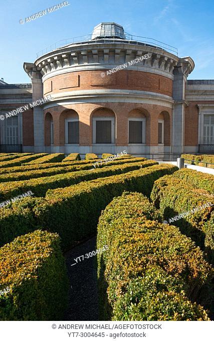 Spain, Madrid, El Retiro district, the Prado Museum. Museo Nacional del Prado