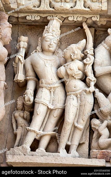 sculpture, kamasutra, Khajuraho Group of Monuments