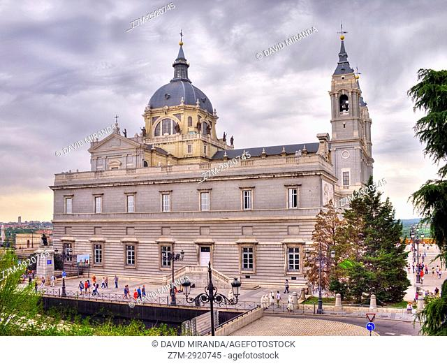 Almudena Cathedral. Madrid. Spain