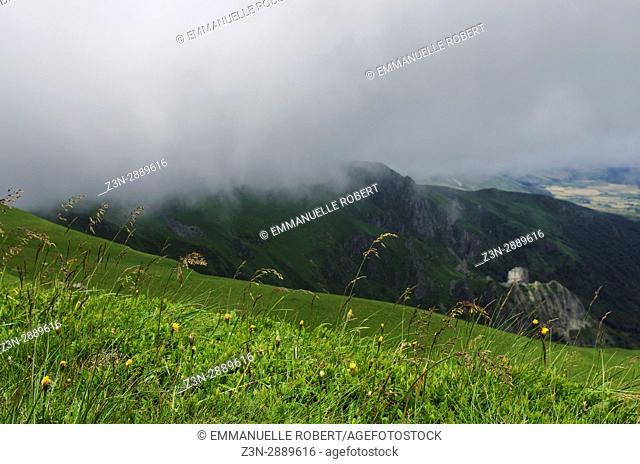Sancy massif, Massif central, volcanoes, Auvergne, France