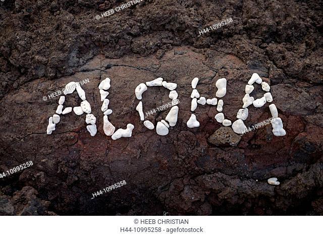 USA, Vereinigte Staaten, Amerika, Hawaii, Big Island, South Kona, Captain Cook, Kapehukapu, beach