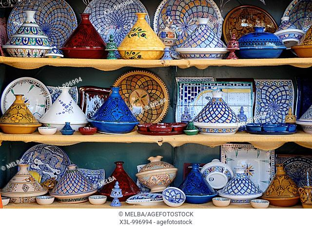 Typical pottery of Tunisia