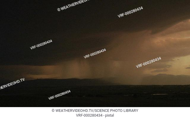 High-speed footage of lightning during a thunderstorm. The second stroke (far right) lasts a lot longer than the first, and strikes at least ten kilometres from...