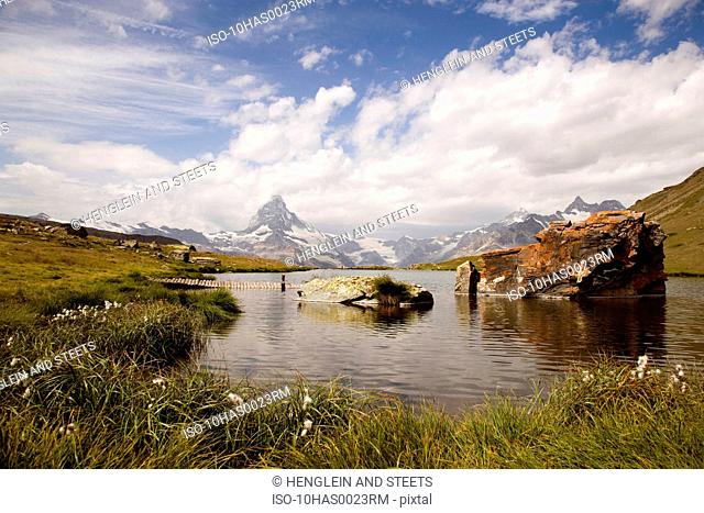 Alpine Matterhorn, Stellisee lake