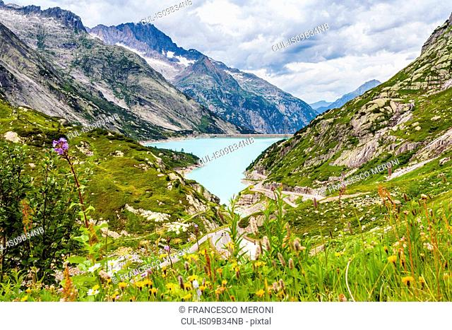 Lake, Grimsel Pass, Switzerland